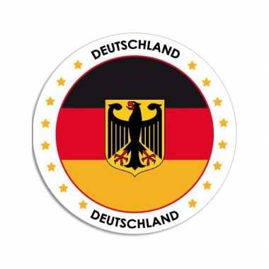 Sticker met duitse vlag trend