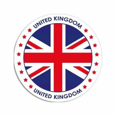 Sticker met engelse vlag trend