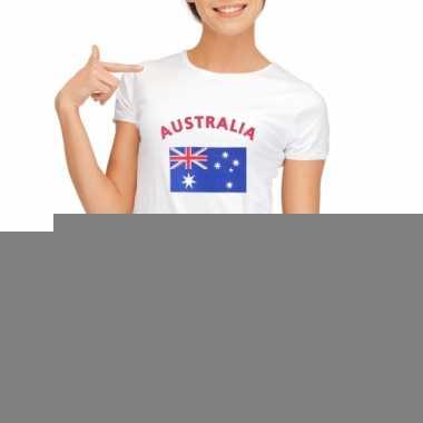 T-shirt met vlag australie print voor dames