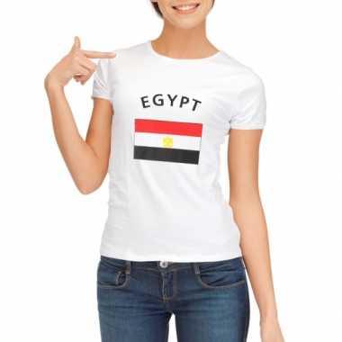 T-shirt met vlag egypte print voor dames