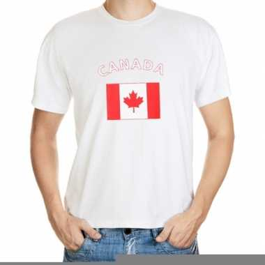 T-shirts met vlag canada