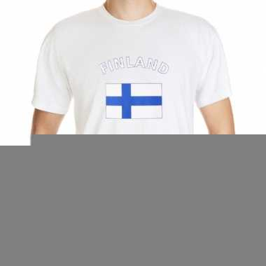 T-shirts met vlag finland