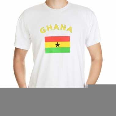 T-shirts met vlag ghana