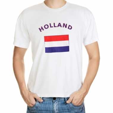 T-shirts met vlag holland print