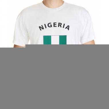 T-shirts met vlag nigeria