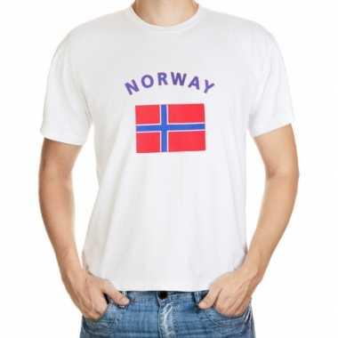 T-shirts met vlag noorwegen