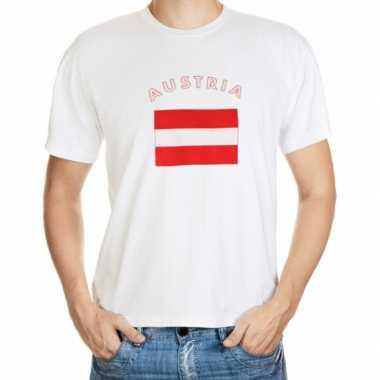 T-shirts met vlag oostenrijk