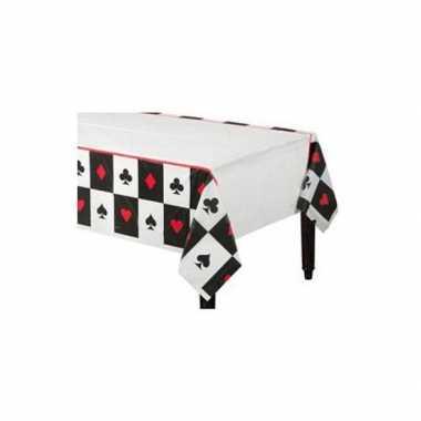 Tafel kleedthema pokeren