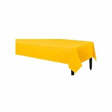 Tafellaken geel 140 x 240 cm