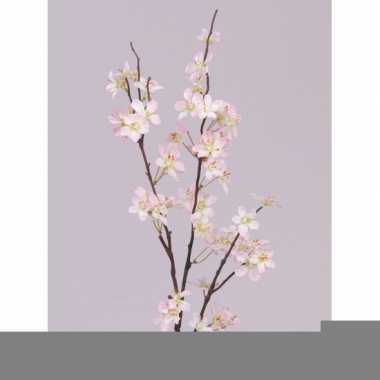 Tak met roze appelbloesems 84 cm