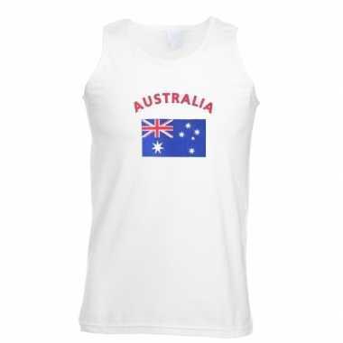 Tanktop met vlag australie print