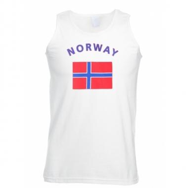 Tanktop met vlag noorse print
