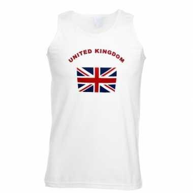 Tanktop met vlag united kingdom
