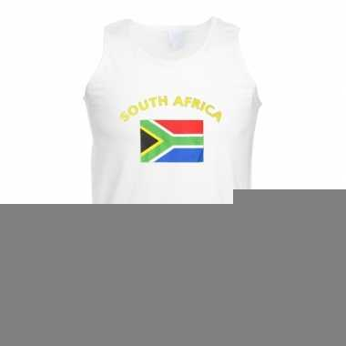 Tanktop met vlag zuid-afrika print