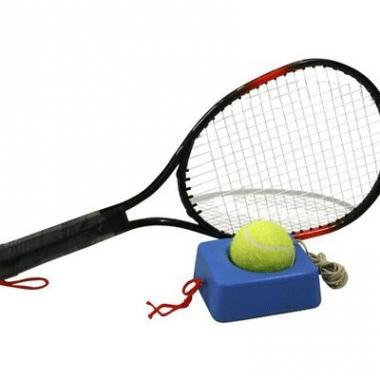 Tennis trainer met 4 meter touw en tennisbal