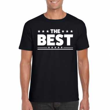 The best heren t-shirt zwart