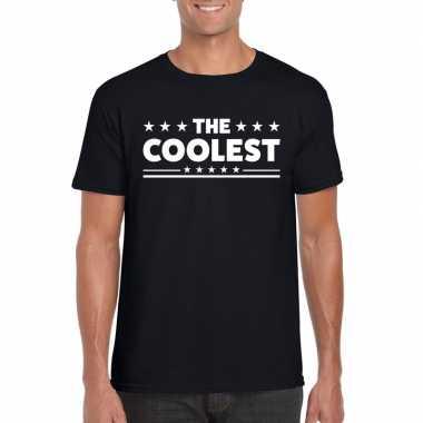 The coolest heren t-shirt zwart