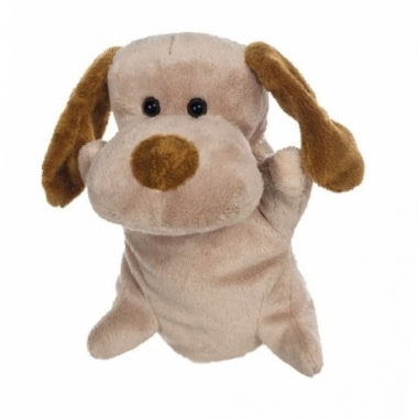 Theater pop pluche hond 24 cm