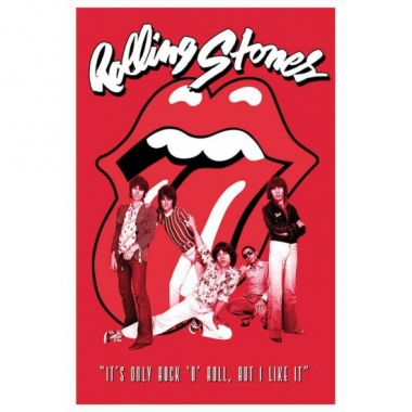 Themafeest poster rolling stones