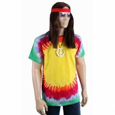 Tie-dye t-shirt explosion