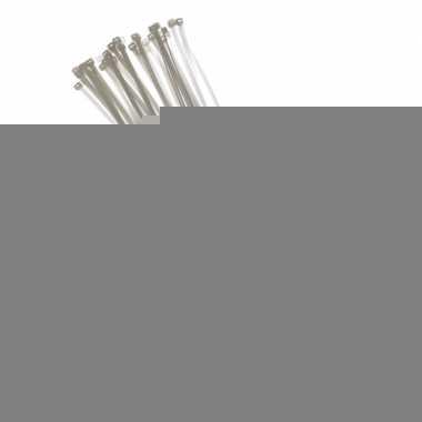 Tie-wraps wit 40 cm 50 stuks