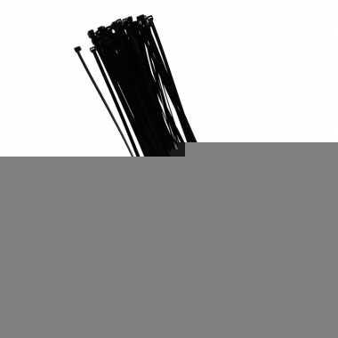 Tie-wraps zwart 40 cm 50 stuks
