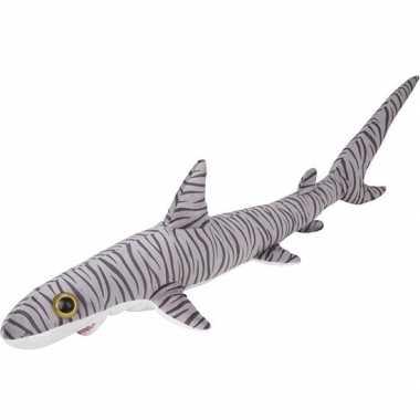 Tijgerhaaien speelgoed artikelen tijgerhaai knuffelbeest gestreept 11