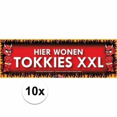 Tokkies xxl sticky devil sticker
