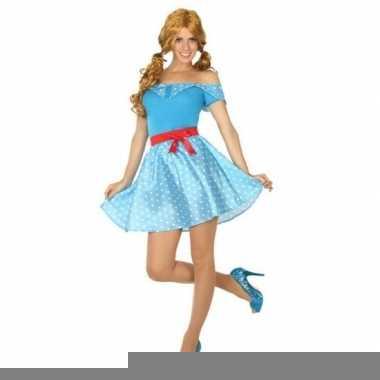 Toppers - jaren 50 verkleed kostuum/jurkje voor dames