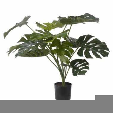 Tropische kunstplant monstera 85 cm