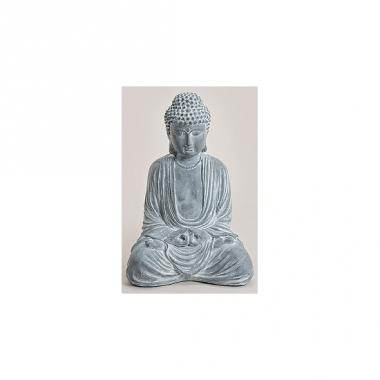 Boeddha Beelden Voor De Tuin.Tuin Beeld Boeddha Blauw Grijs 41 Cm Alltrends Nl