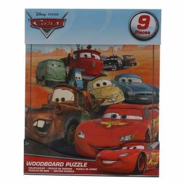 Uitdeel cars puzzeltjes 9x