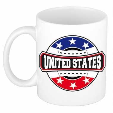 United states / amerika / verenigde staten embleem mok / beker 300 ml
