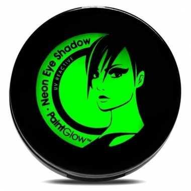 Uv oog oogschaduw groen