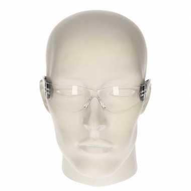 Veiligheidsbril zwart voor kinderen
