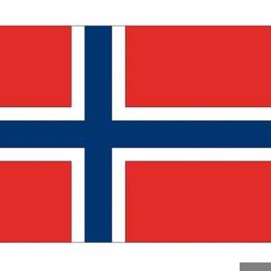 Vlag van noorwegen plakstickers