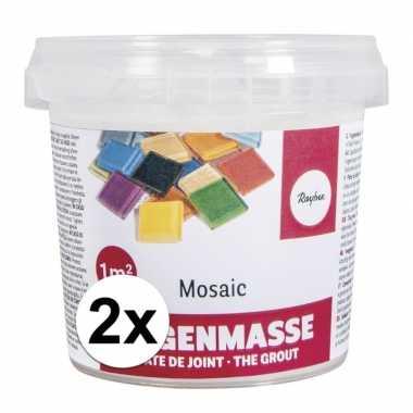 Voegmiddel voor mozaiek steentjes 1000 gr