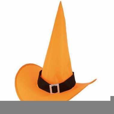 Voordelige oranje heksenhoed trend