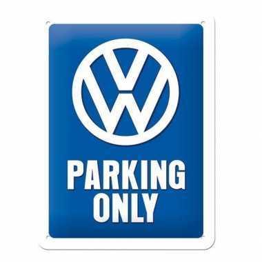 Wanddecoratie volkswagen parking