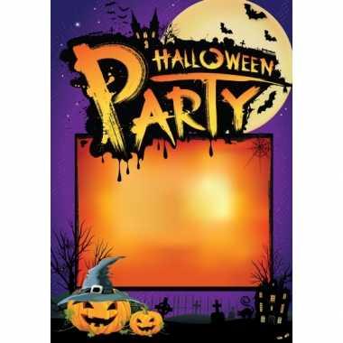 Wanneer en waar halloween poster