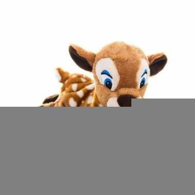 Warme knuffel kruik hert bosdier 18 cm