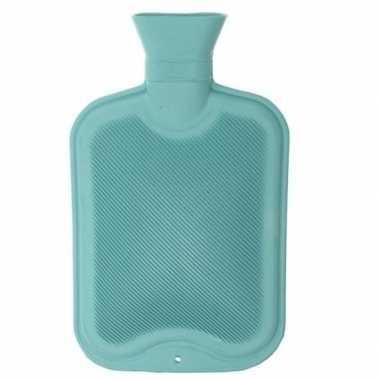 Warmwater kruik mintgroen 2 liter