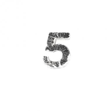 Was cijfertje cijfer 5 zilver