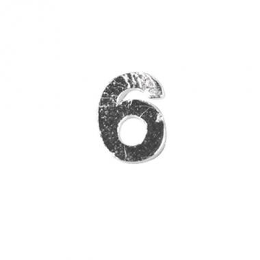 Was cijfertje cijfer 6 zilver