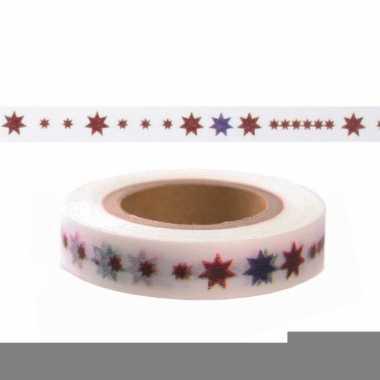 Washi tape met sterren