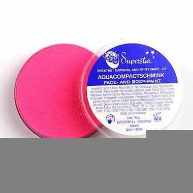 Water schmink roze