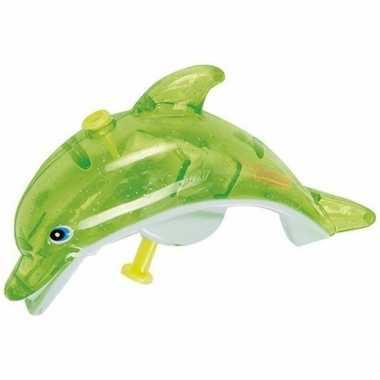 Waterpistool groene dolfijn 13 cm