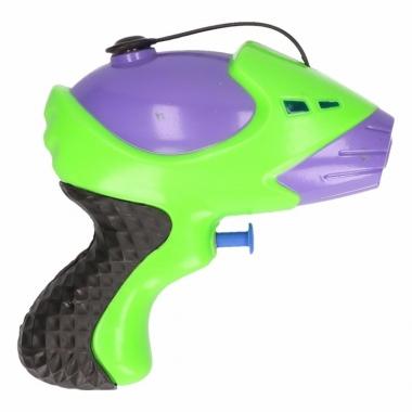 Waterpistool paars groen 10 cm trend