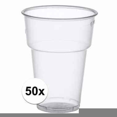 Wegwerp bierglazen