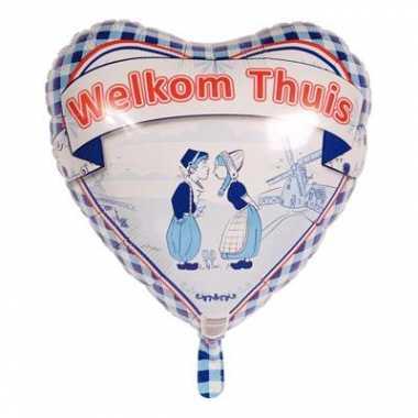Welkom thuis ballonnen 45 cm